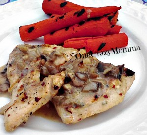 Awesome Grilled Chicken Marsala Recipe