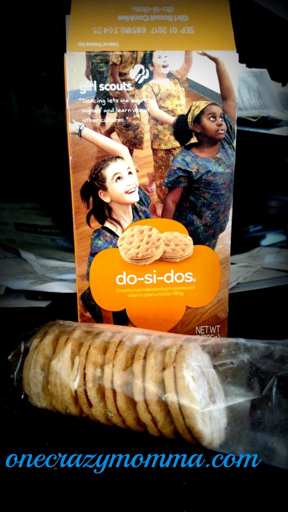 Girl Scout Cookies Do-Si-Dos